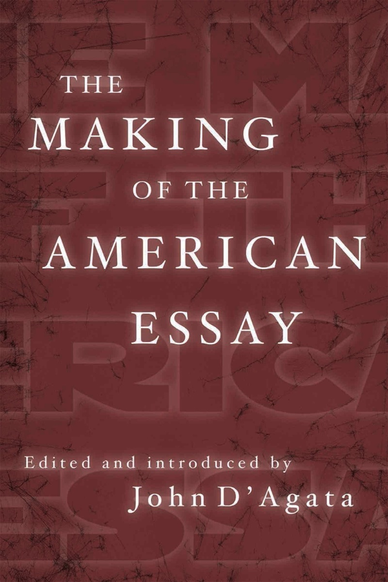 003 Essay Example Makingamericanessay John Stirring D Agata D'agata Next American The Pdf Full