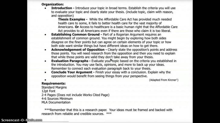003 Essay Example Maxresdefault Best Rogerian Argument Sentence Abortion Style Topics 728