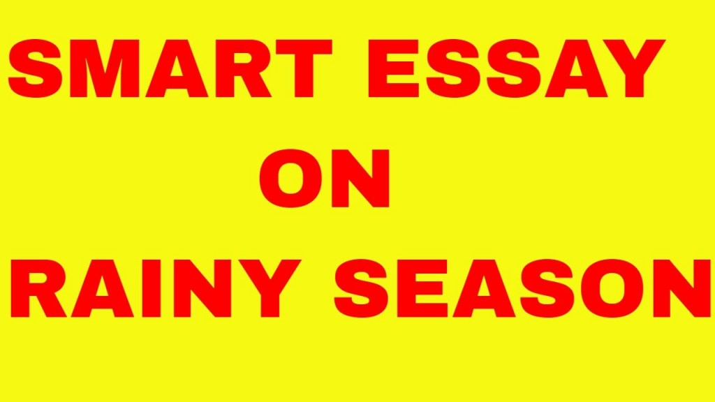 003 Essay Example Maxresdefault Rainy Day Stupendous English My In For Class 6 10 Large