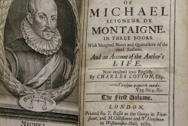 003 Essay Example Montaigne Essays Astounding Summary On Idleness Cannibals