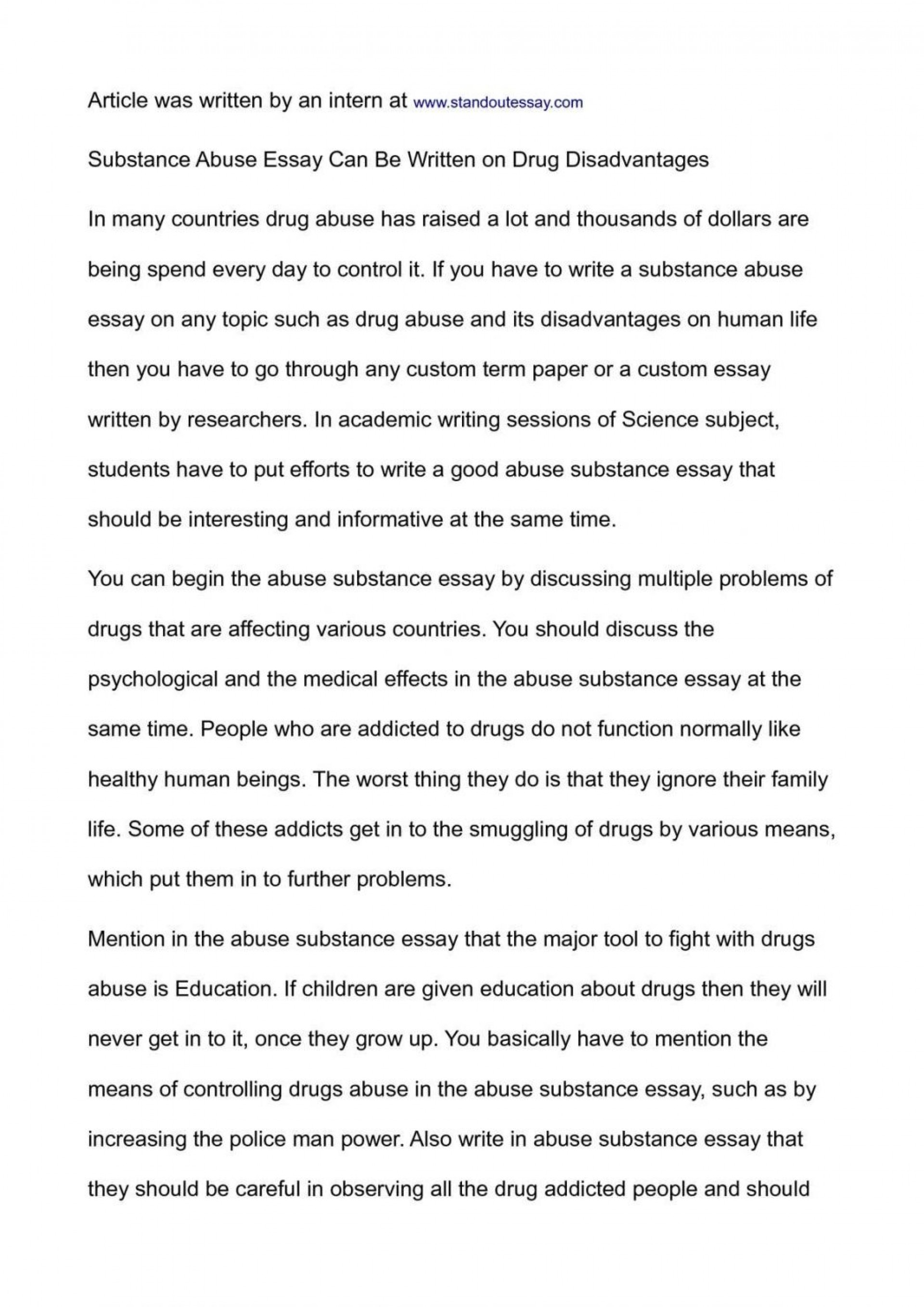 003 Essay Example National Honor Society Conclusion On Substance Abuse Junior Exampl Examples Topics 1048x1483 Archaicawful Of Drug Alcohol 1920