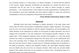 003 Essay Example On Quality Education In India Breathtaking Of Higher 320