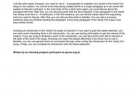 003 Essay Example P1 On Stupendous Vanity Fair Topics Montaigne's
