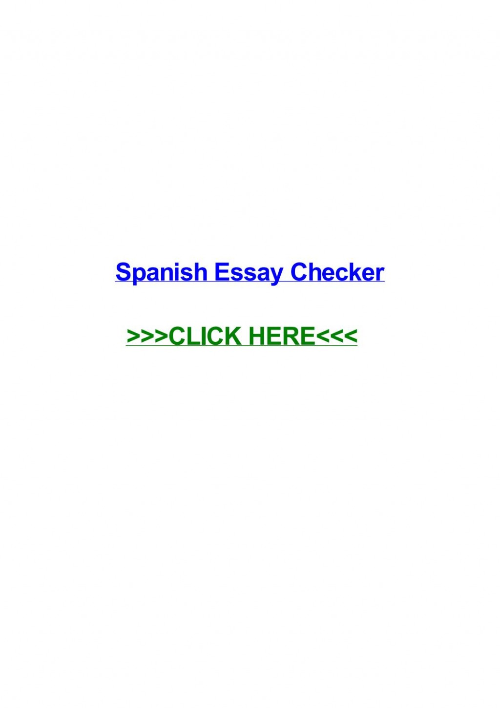 003 Essay Example Page 1 Spanish Remarkable Checker Large