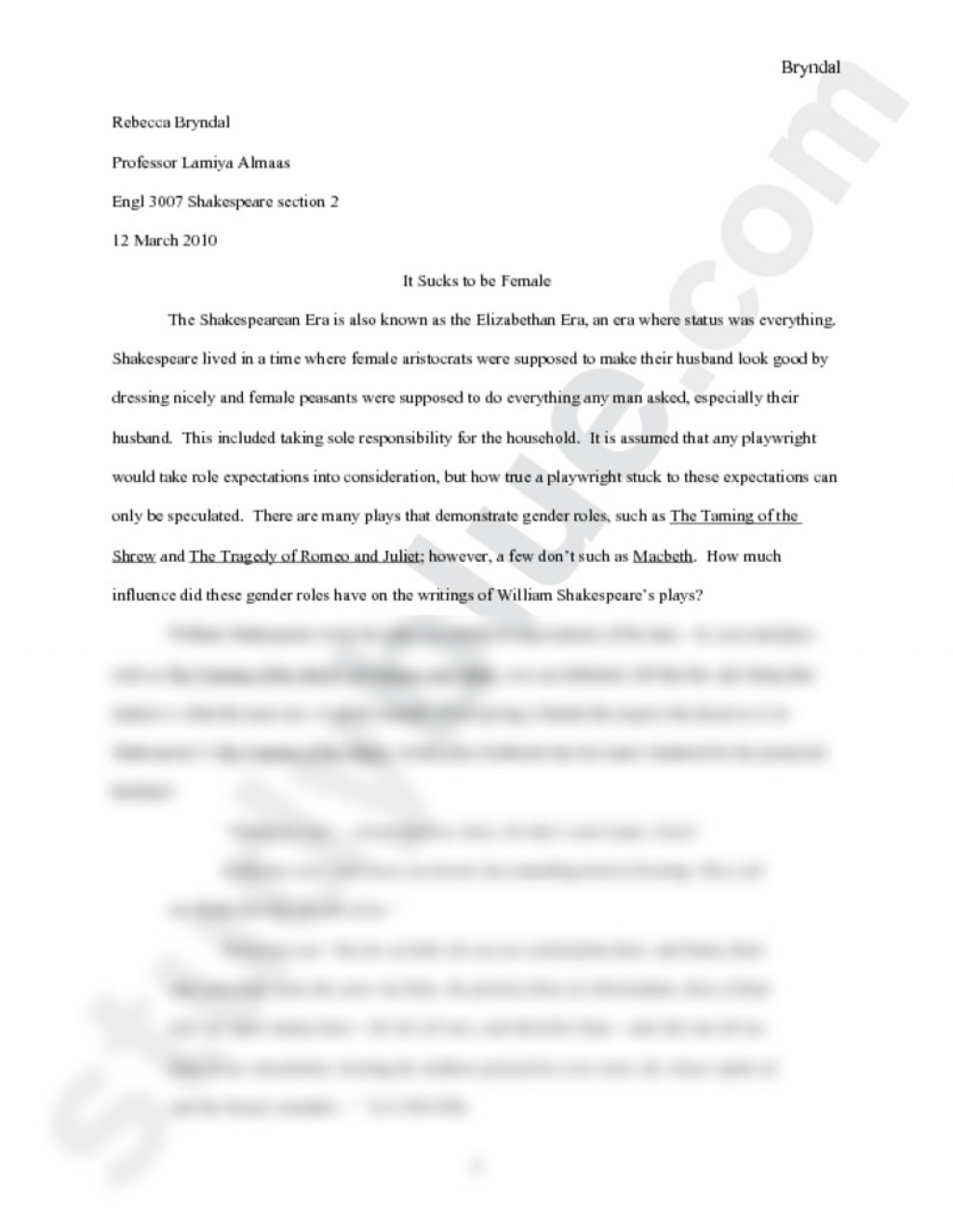 003 Essay Example Page Unforgettable 5 In One Night Research On Respect Large