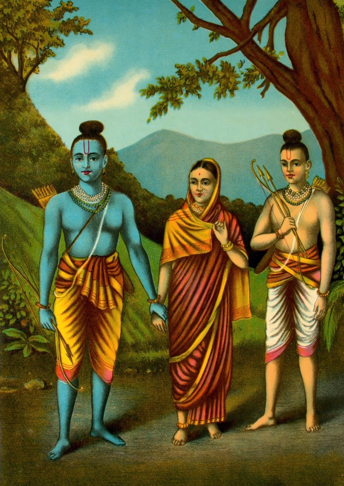 003 Essay Example Rama252c Sita252c Lakshmana On The Book You Like Awful Most Short Full