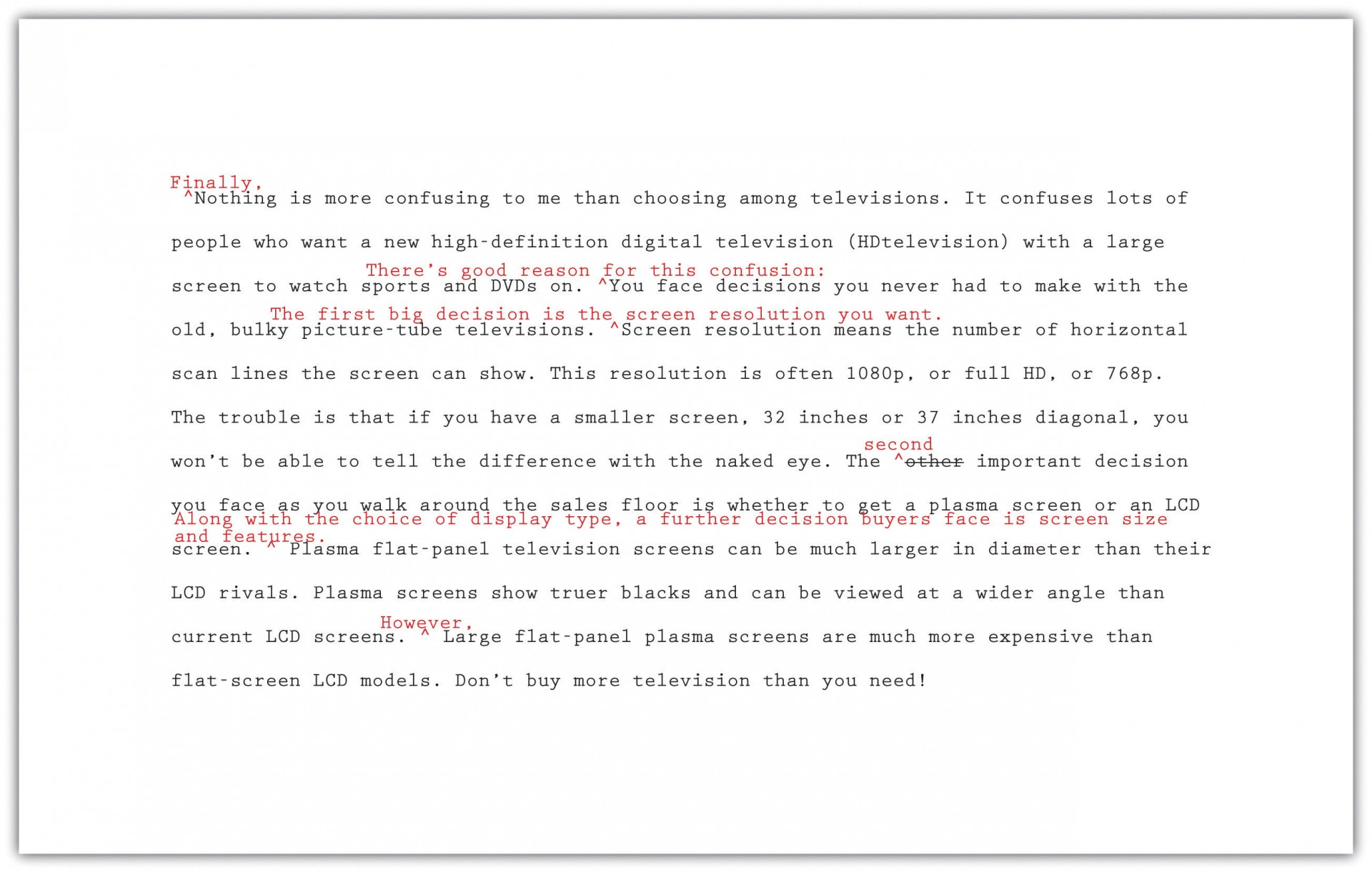 003 Essay Example Rev When Revising An Informative It Is Important To Formidable Consider Brainly 1920
