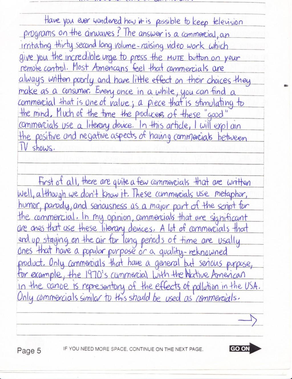003 Essay Example Sat Average Score How To Write Imposing A Good Killer Pdf Large