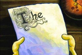 003 Essay Example Spongebob Surprising Gif Font Writing Rap