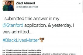 003 Essay Example Stanford Black Lives Matter Ziad Ahmed Wrote Blacklivesmatter Times On His College Untitled Desi Admission Awful