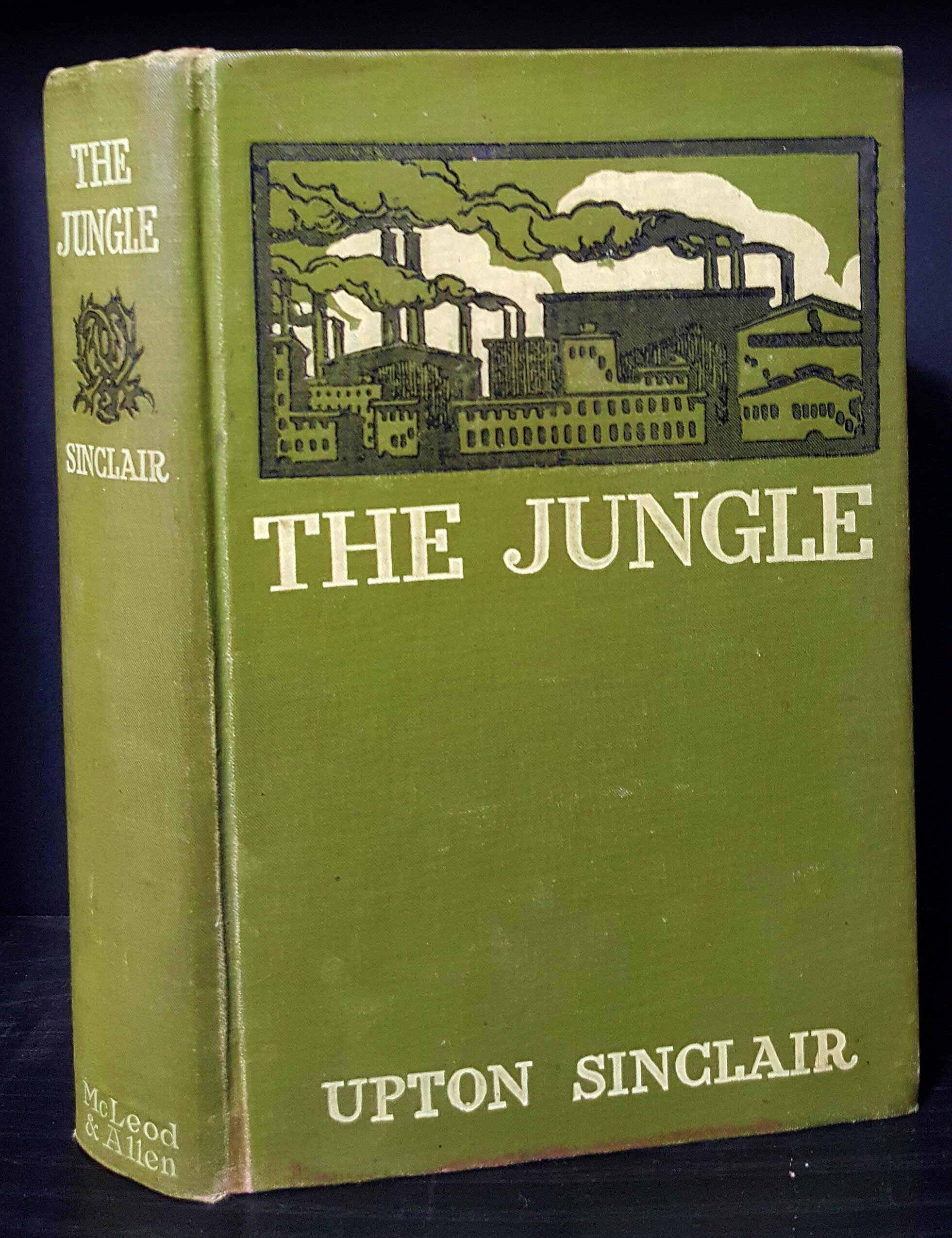 003 Essay Example The Jungle Upton Sinclair Book Rare Review Full