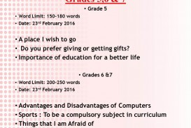 003 Essay Example Topics For Grade Marvelous 5 English Writing Tips