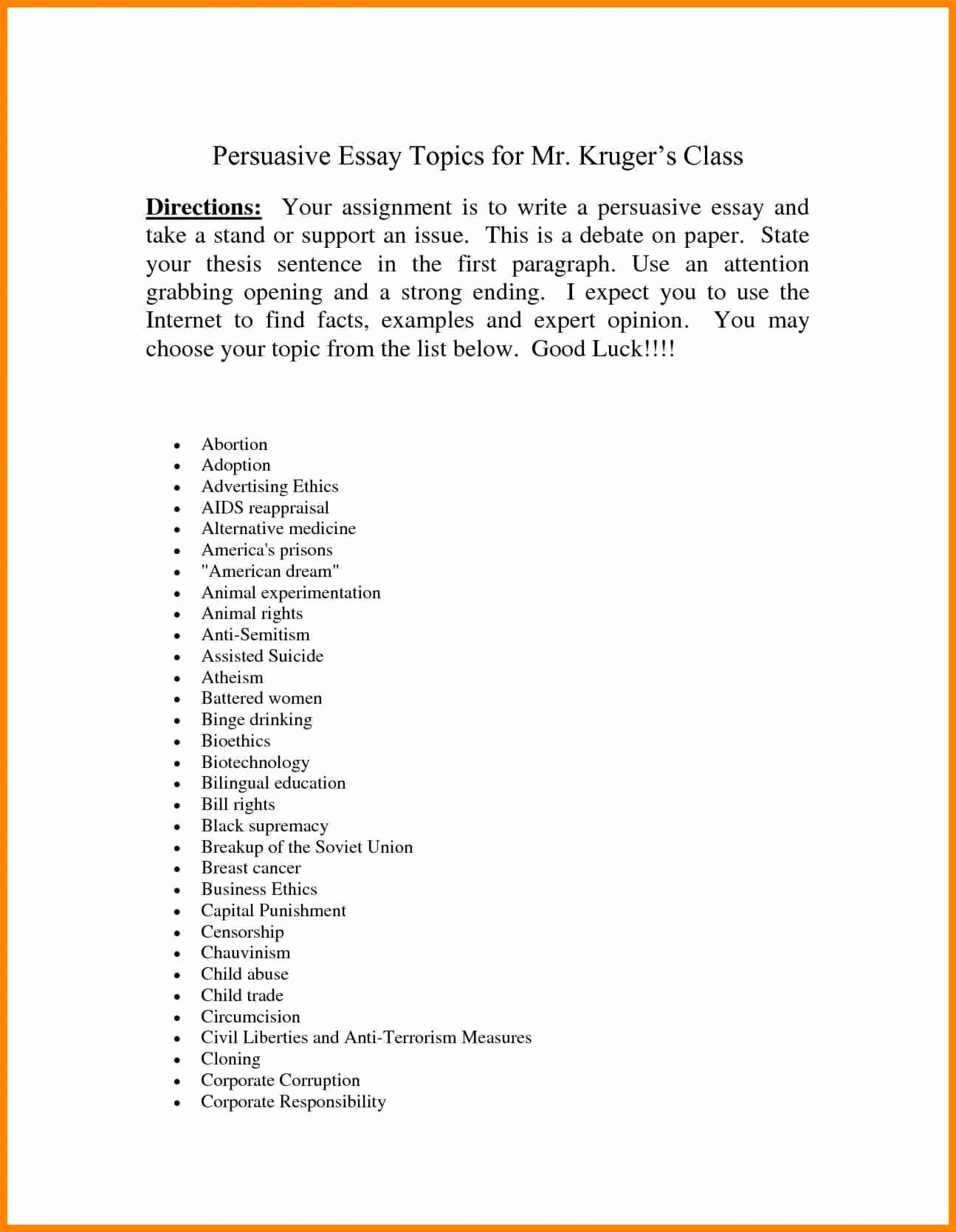 003 Essay Example Topics For Persuasive An Of Censorship Music About Speech Rap Research Paper Argumentative Interesting Breathtaking A Best Top 10 Controversial 1920