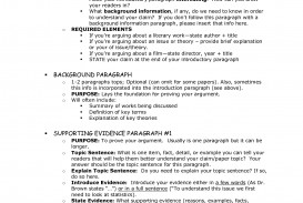 003 Essay Example What Is The Main Purpose Of An Stirring Argumentative Structure Outline For