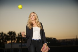 003 Essay Example Why I Love Softball White Shirt Throw Ball Up Unforgettable