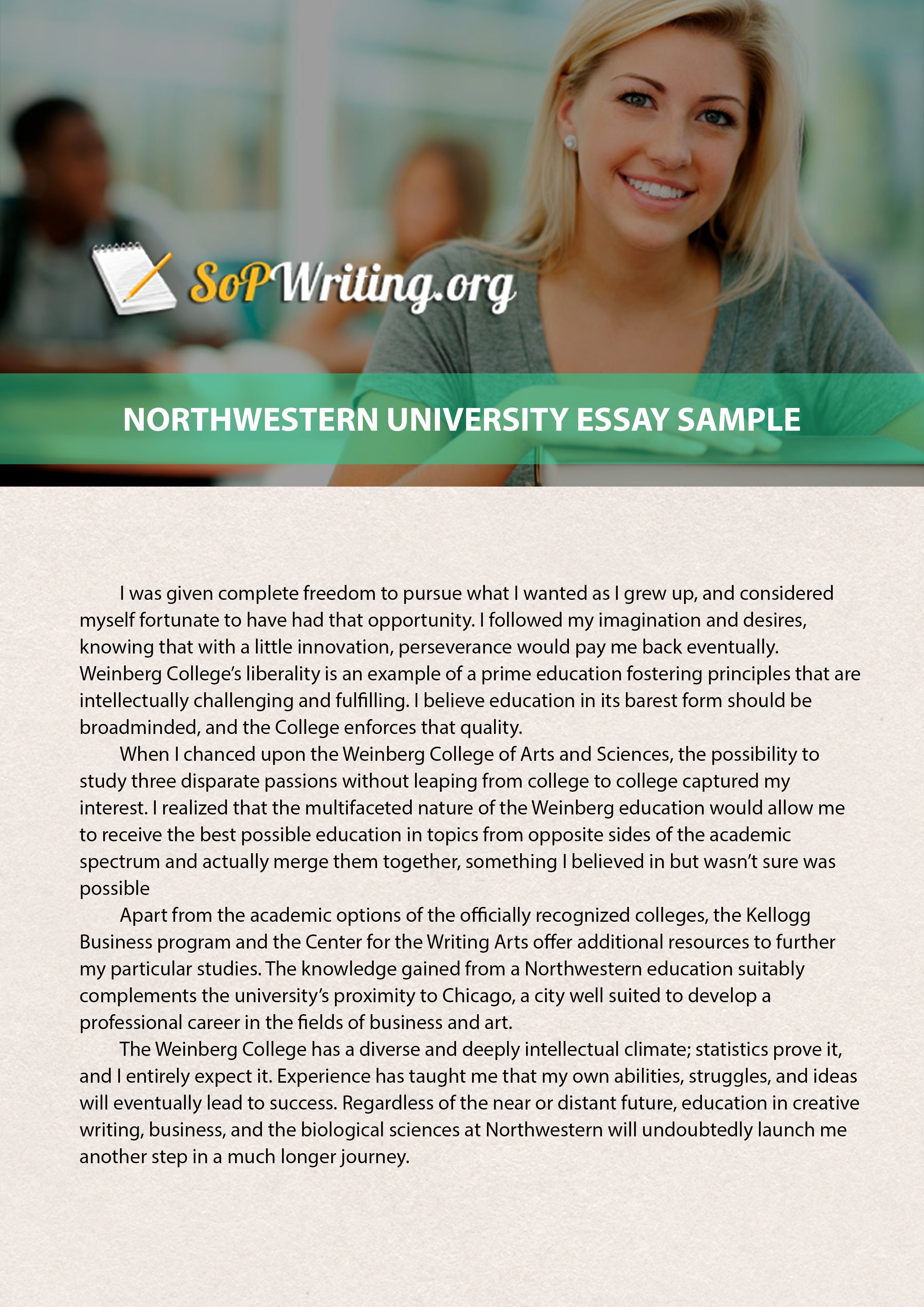 003 Essay Example Why Excellent Northwestern Forum College Confidential Examples Full