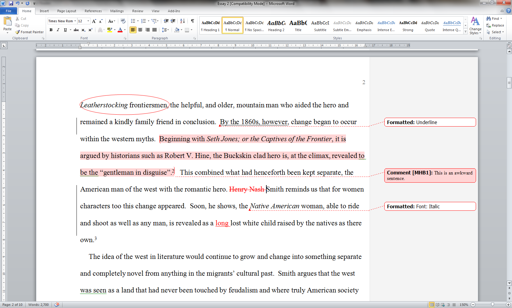 003 Essay Example Wordedit How Tonotate Wondrous To Annotate An A Movie In Critical Full