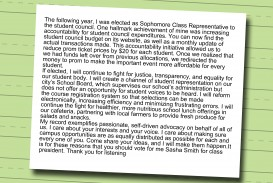 003 Essay Example Write Student Council Speech Step Phenomenal Middle School Ideas College