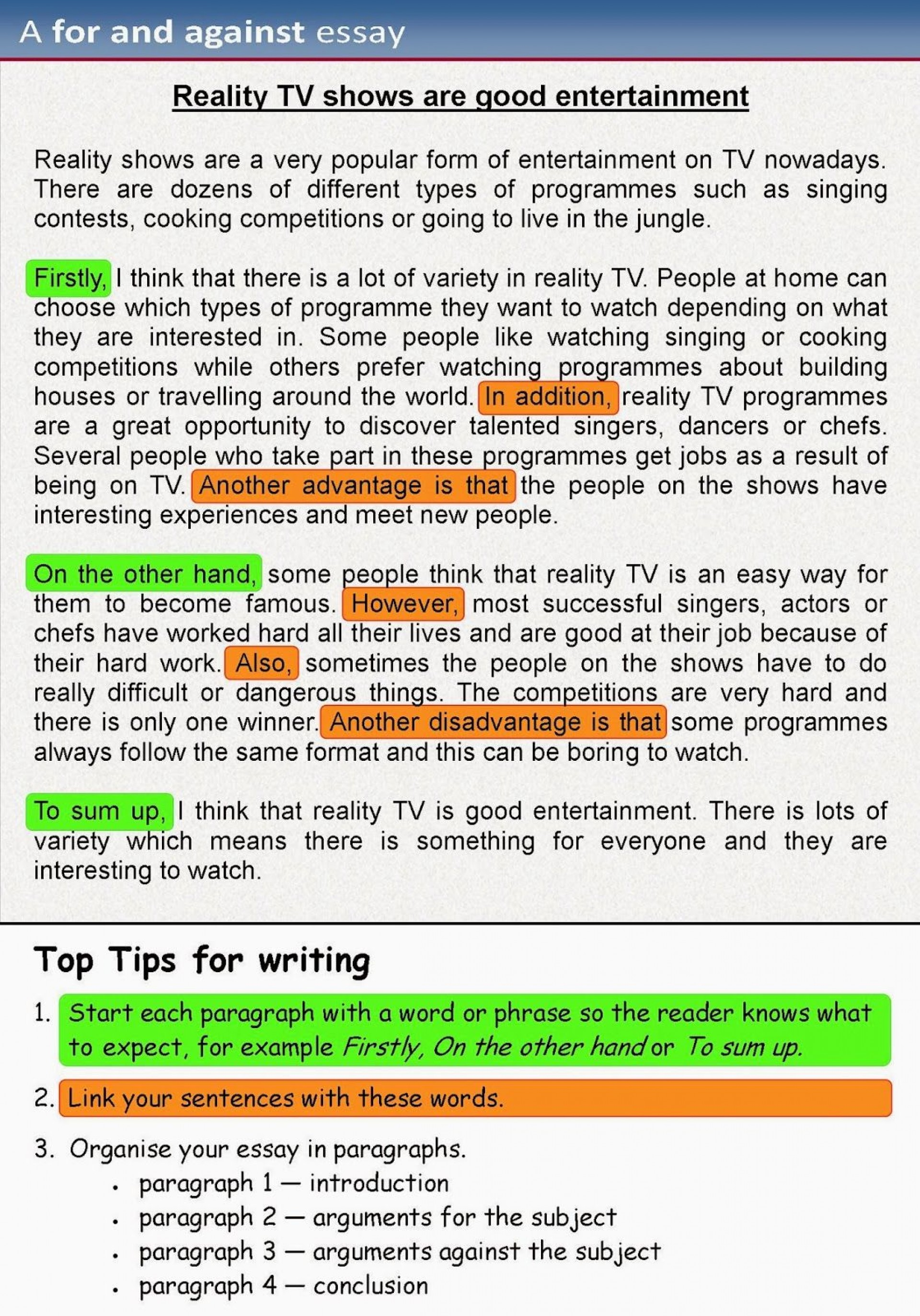 003 Essay Example Writing An Shocking Opinion How To Write Argumentative 5th Grade Video 1920