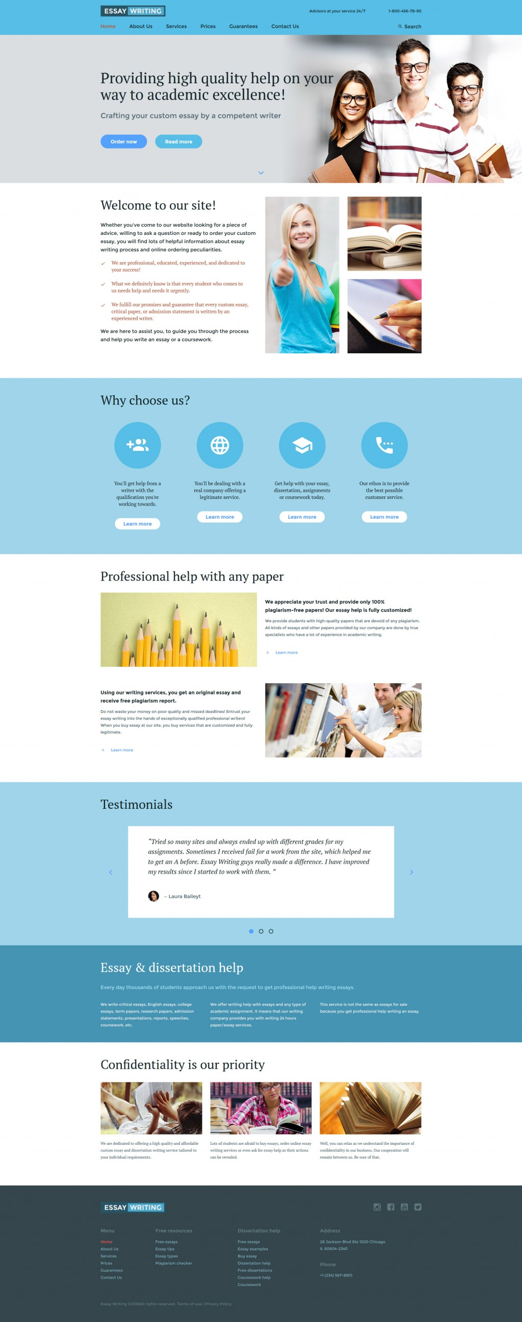 003 Essay Example Writing Website Template 59201 Amazing Websites Reviews Uk Large