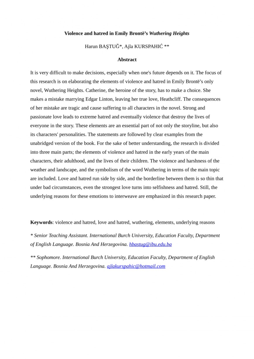 003 Essay Example Wuthering Heights Exceptional Discussion Questions Pdf Heathcliff's Character