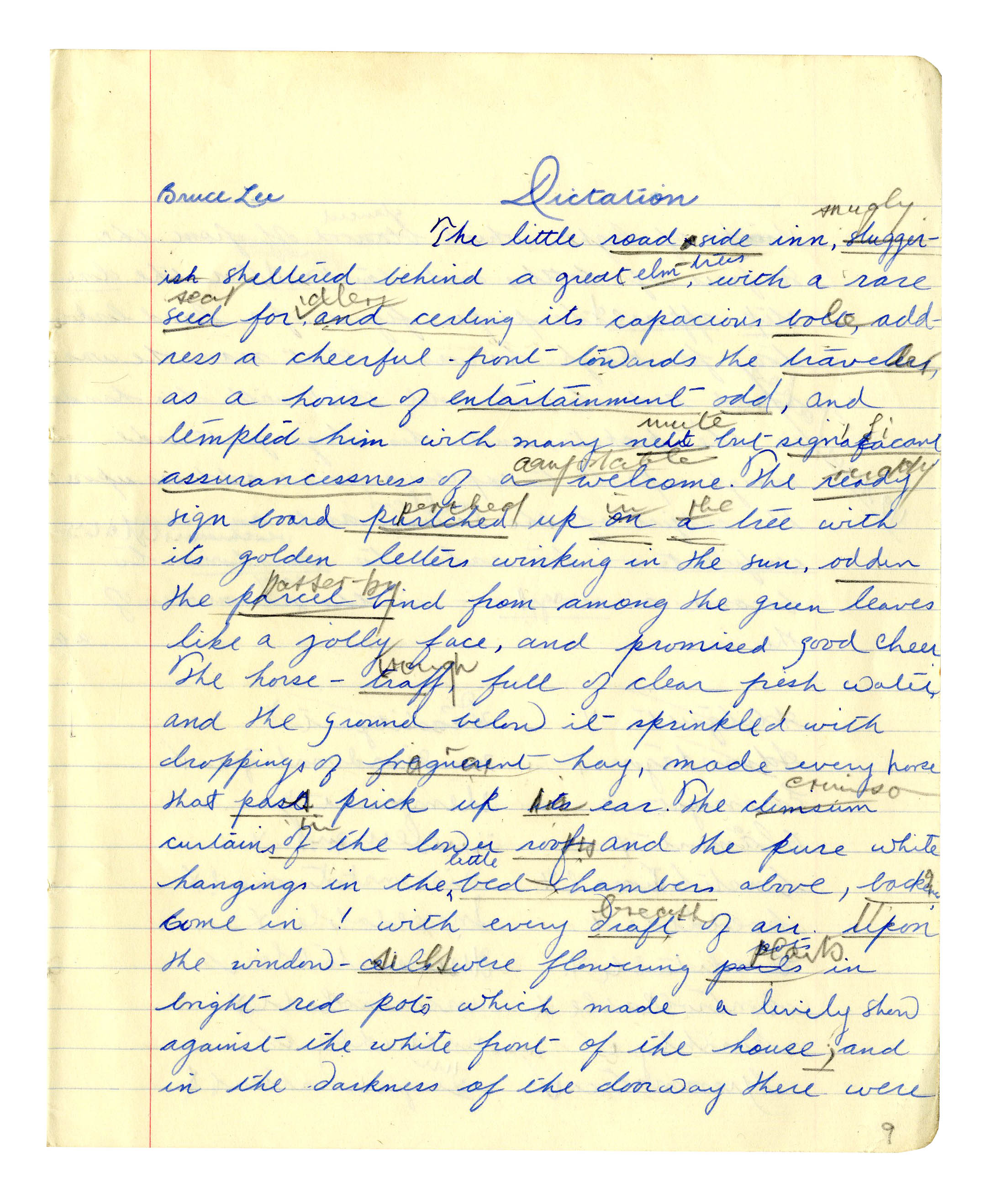 003 Essay On Handwriting Bruce Lee Signed 52850b Lg Fearsome Short Importance Of Good In Hindi Gujarati Full