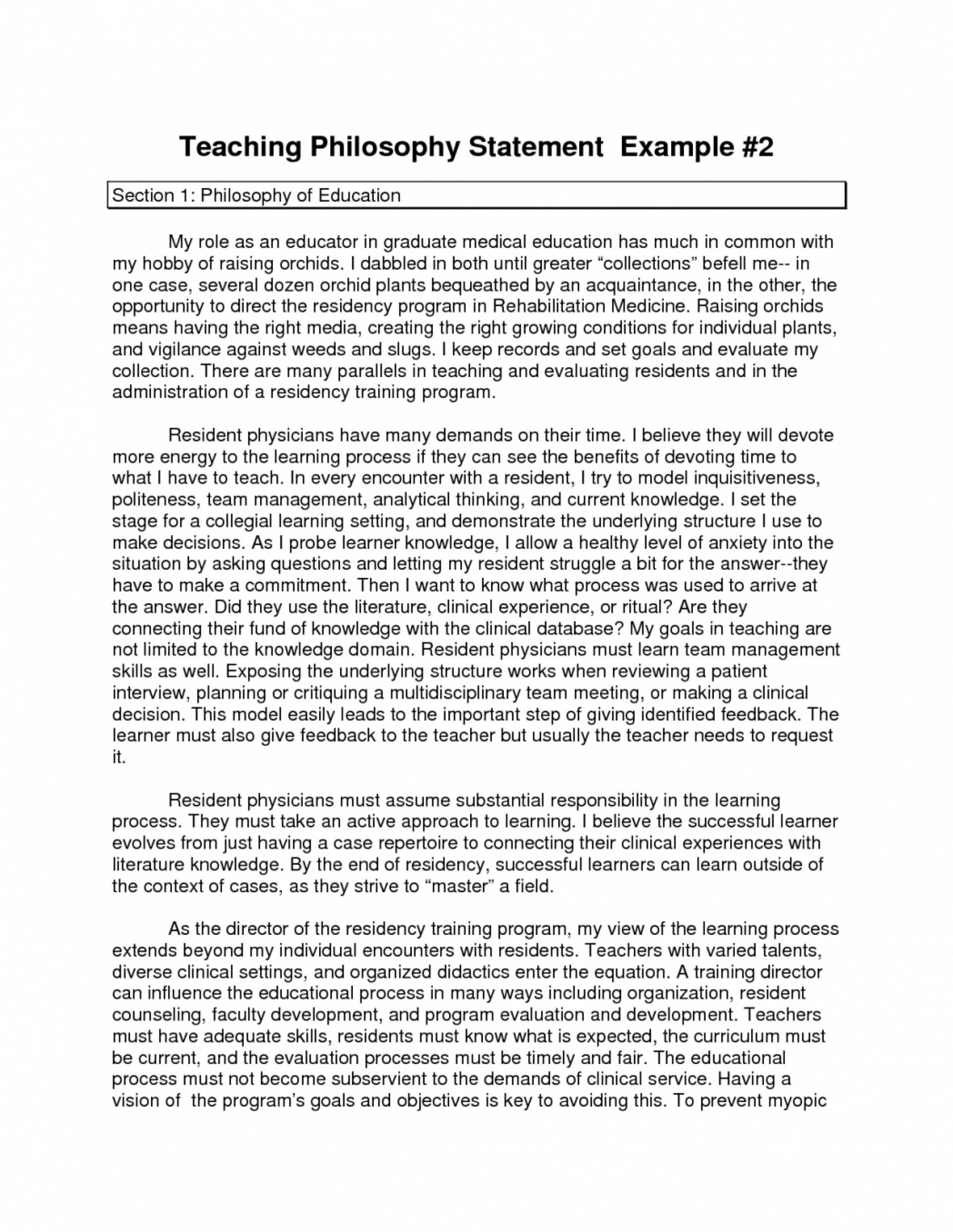 003 essay on philosophy of education cover letter life