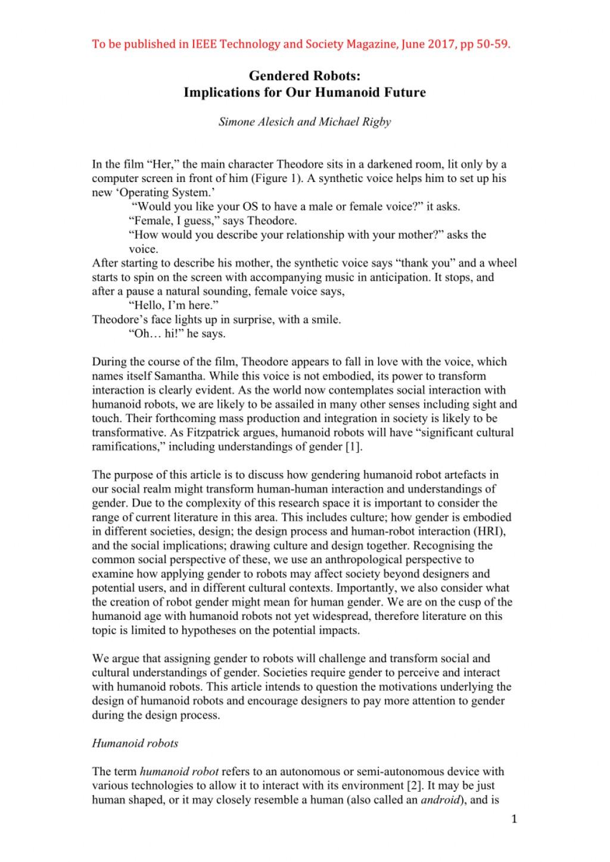 Essays on medical errors