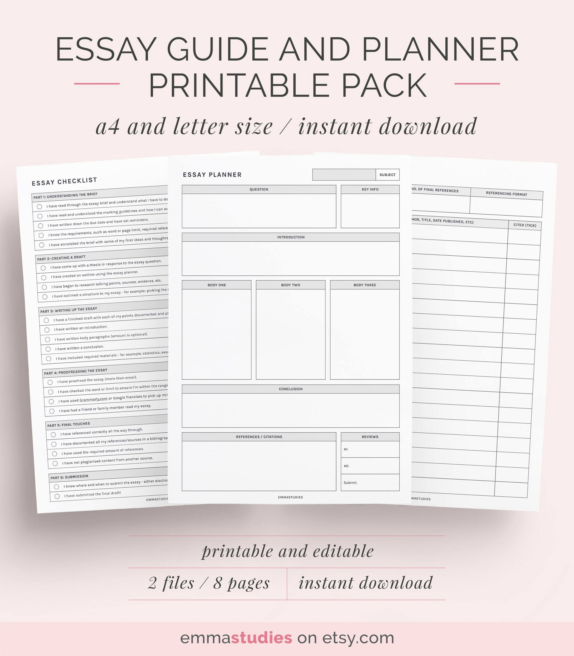 003 Essay Planner Example Amazing Night Before Pdf Sheet Plans Examples 1920