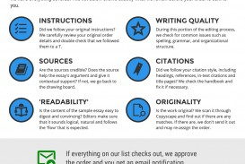 003 Essay Quality Checklist Buy Papers Magnificent
