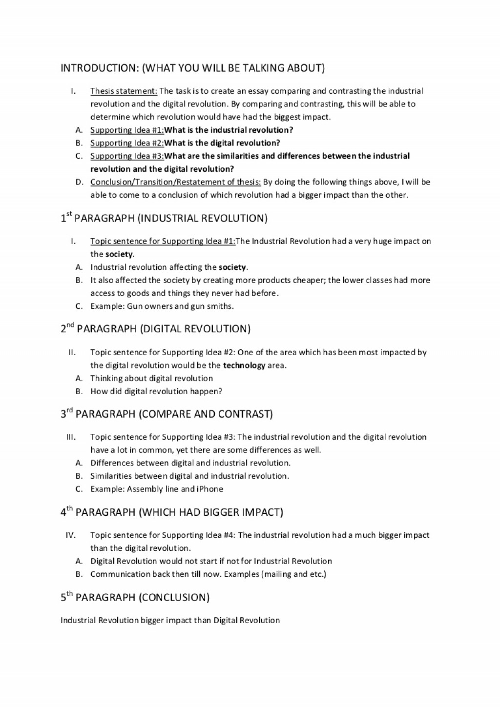 003 Essayplanningtemplateupdated Phpapp02 Thumbnail Essay Example Revolution Of Exceptional Technology Large