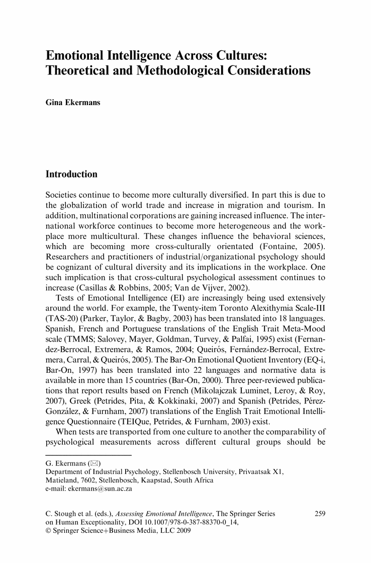 003 Essays Emotional Intelligence Short Essay On In Leadership Nursing Questions Reflective The Workplace Free By Daniel Goleman Fantastic Paper Conclusion Full