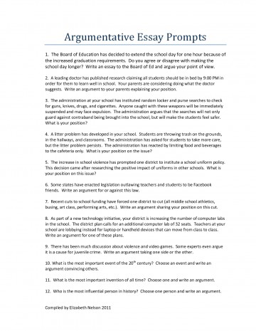 003 Essays For Middle School Argumentative Essay Topics Writings And Informative Good Persuasive High Argument W To Write About List Science Paper Expository Shocking Writing Leadership Students 360