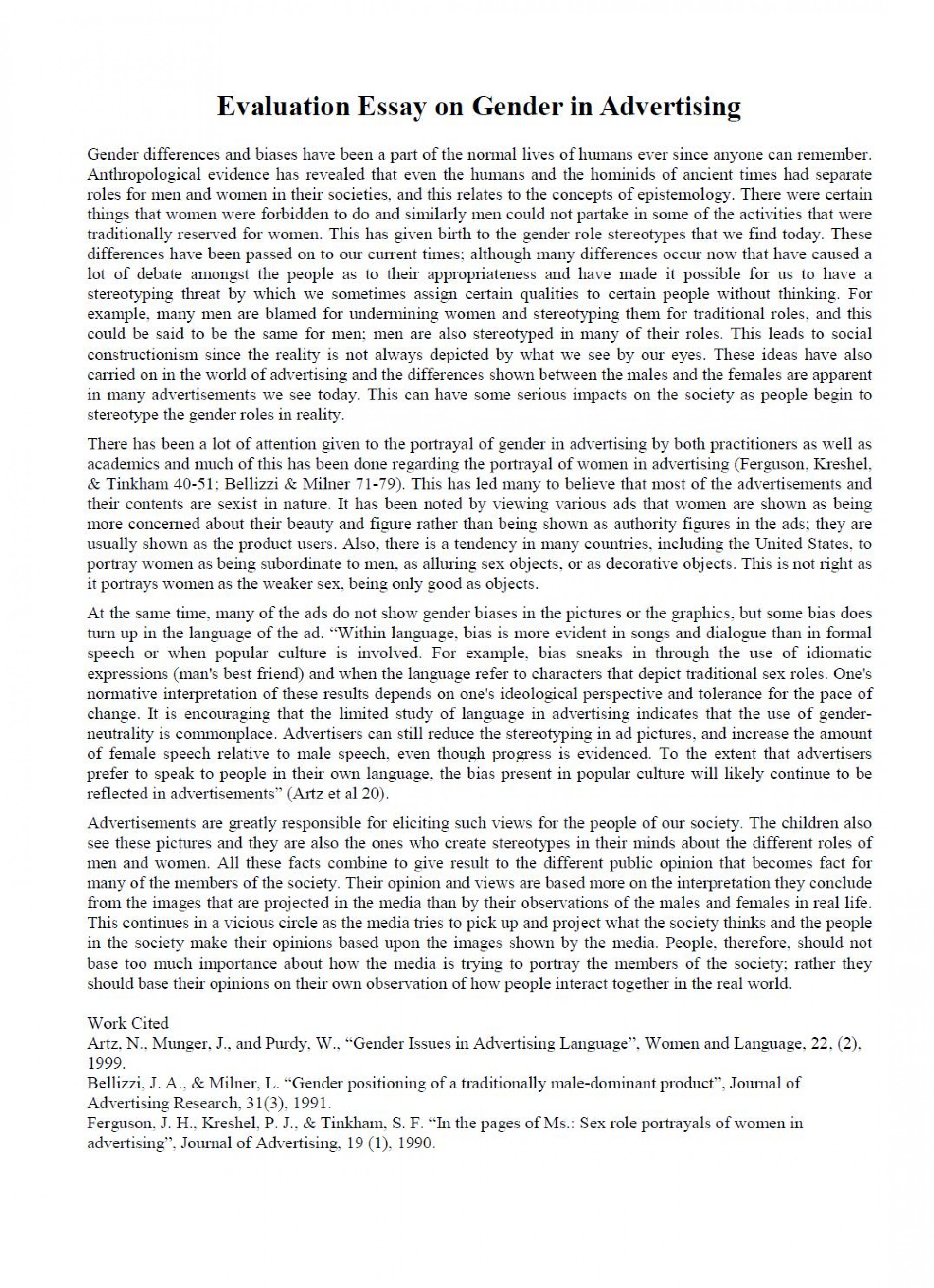 003 Evaluation Essay Sample Academic Essays Online Fearsome Read Buy 1920