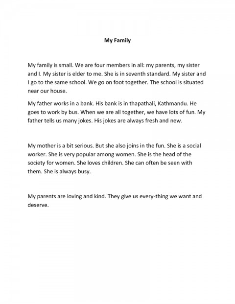 003 Example Essay Myself My Family Poemsrom Co Sample About And What Is In English Also Format Layout Formidable How To Write French Examples Spanish 480
