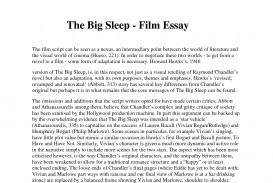 003 Example Movie Review Essays 130056 Essay Frightening Film Festival Harry Potter