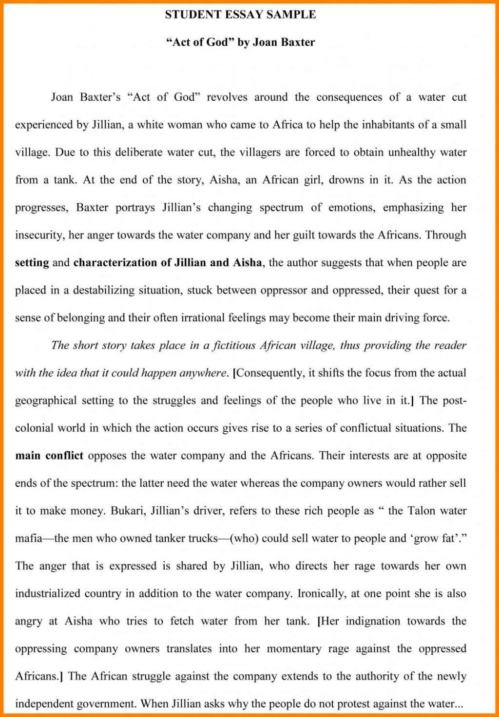 003 Examples Of Process Essays Pdf Essay Example College St Paper Sample Samples Ielts Topics How To Bake Cake Processchronological 1048x1508 Exceptional Do A Start Off You Write Analysis Large
