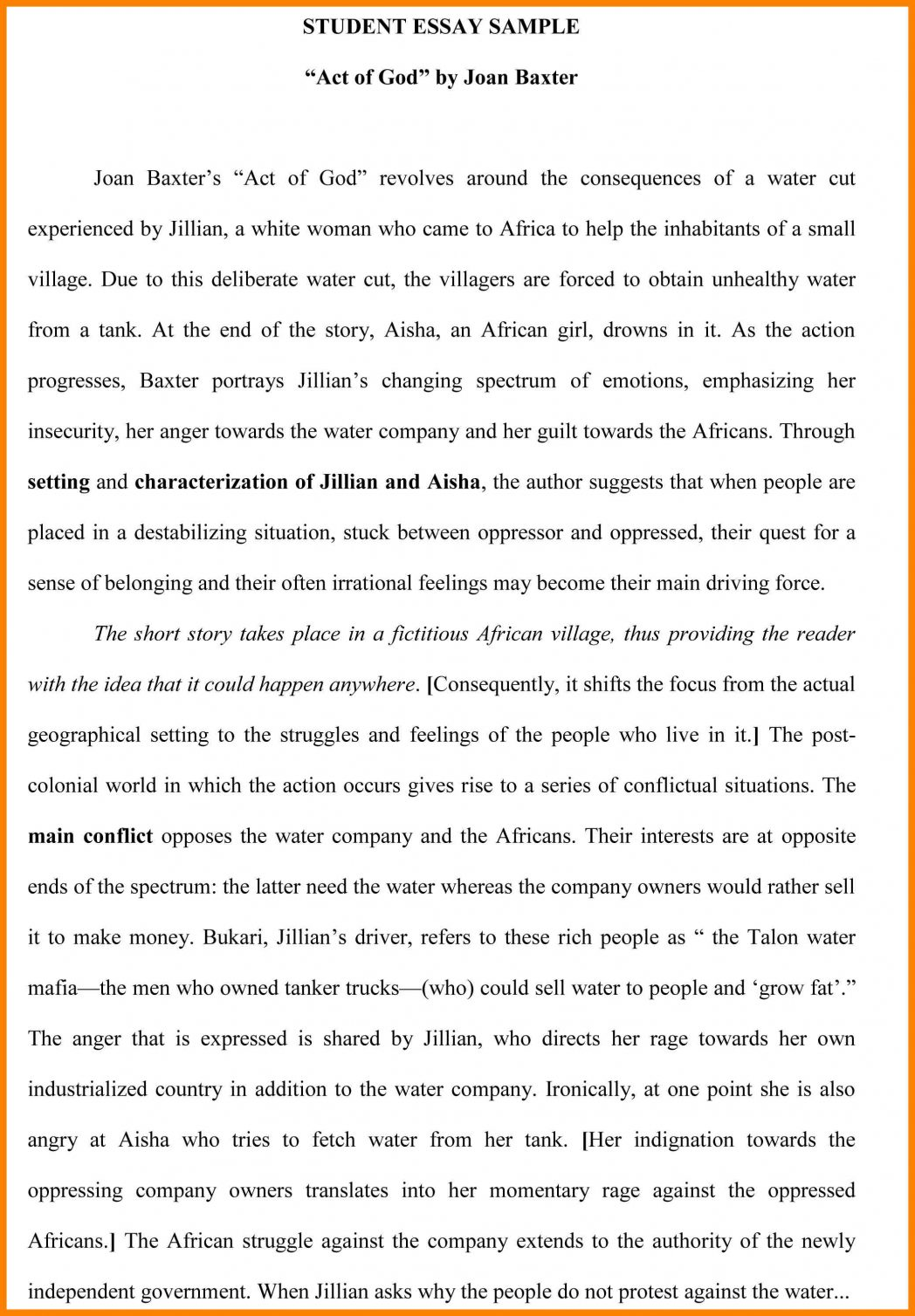 003 Examples Of Process Essays Pdf Essay Example College St Paper Sample Samples Ielts Topics How To Bake Cake Processchronological 1048x1508 Exceptional Do A Start Off You Write Analysis Full