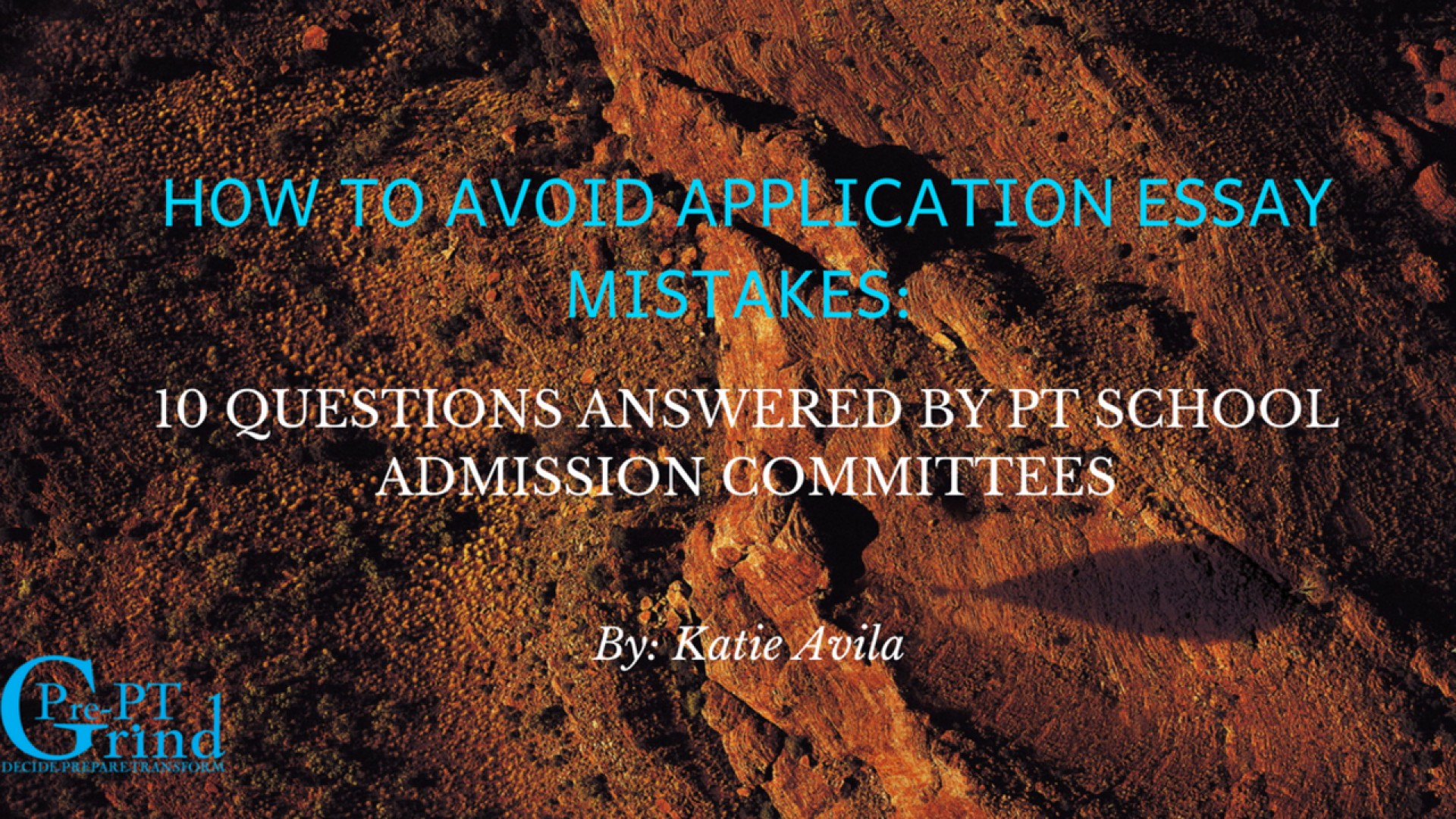 003 Fefntsd0spgrpfq06zzj How To Avoid Application Essay Mistakes 10 Questions Answered By Pt School Admission Committees Ptcas Unusual 2019 Examples 2018 Tips 1920