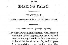 003 First Essay Parkinson2c An On The Shaking Palsy 28first Page29 Rare Day At University Nietzsche Week