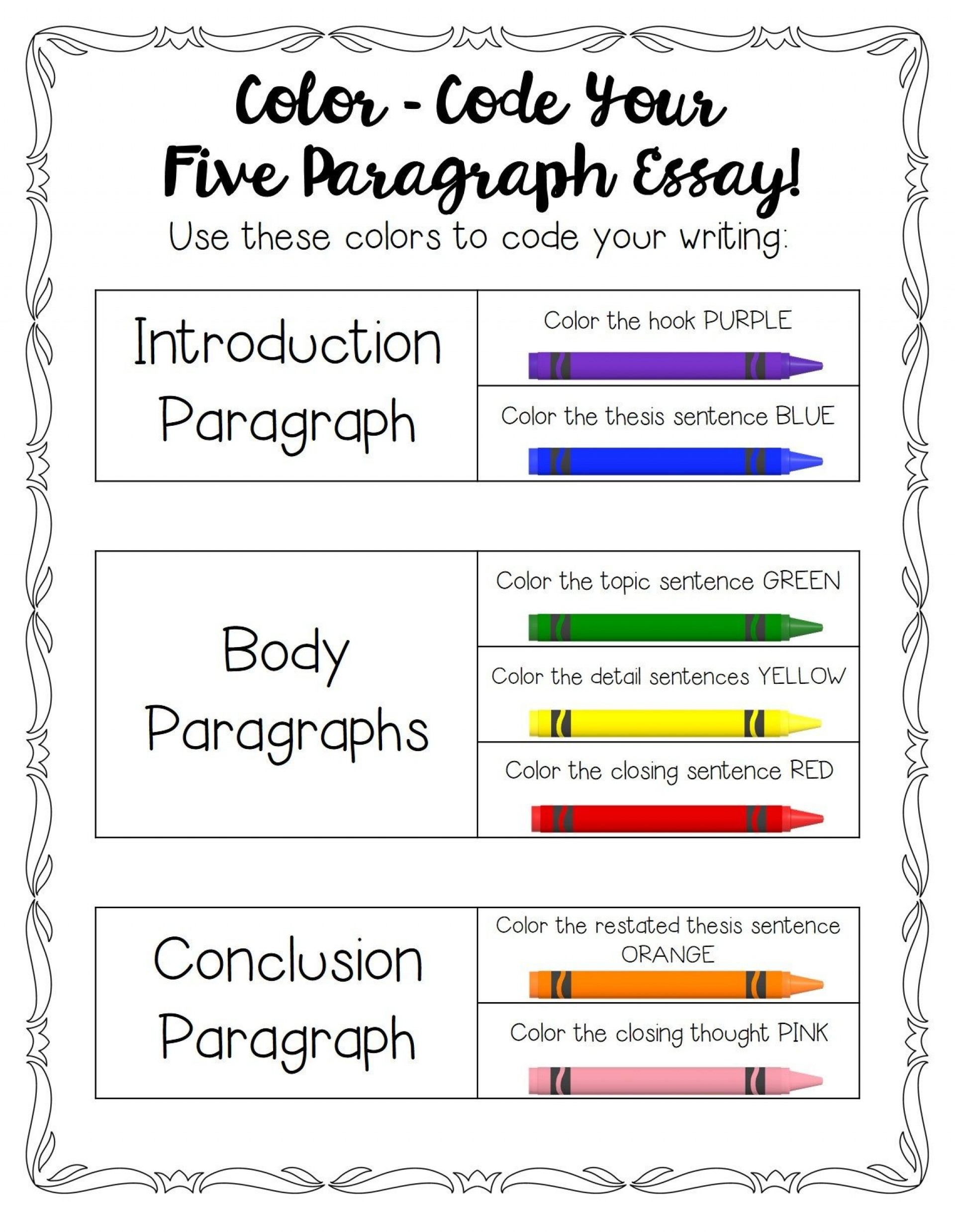 003 Five Paragraph Essay Format Stirring Teaching Argumentative 1920
