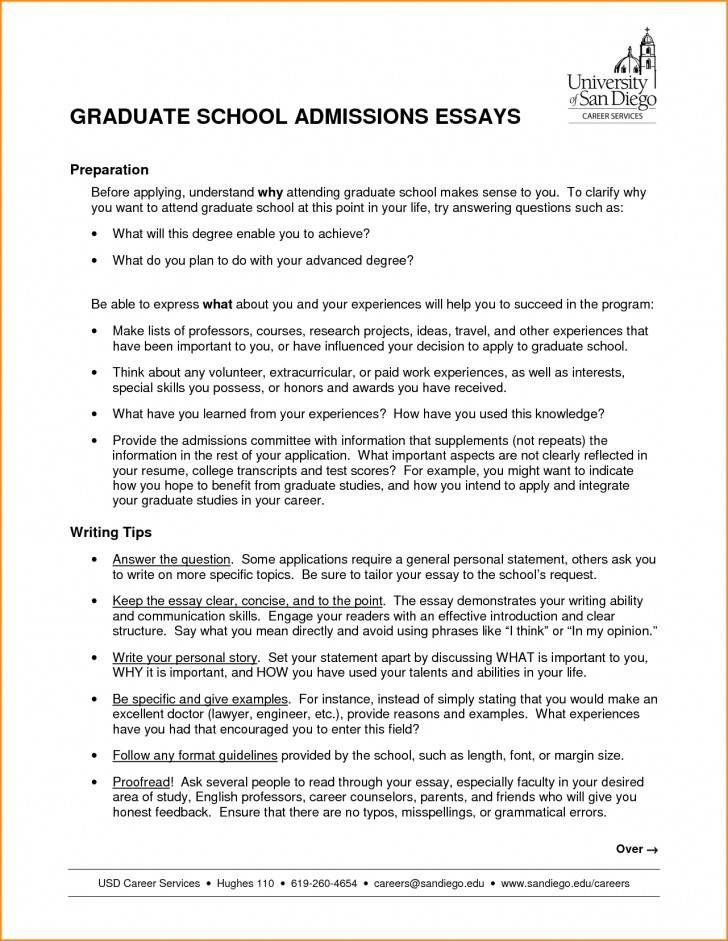 003 High School Admission Essay Sample Graduate Nursing Samples Admissions Examples Psychology Education Counseling Free Business Engineering Example Surprising For Personal 728