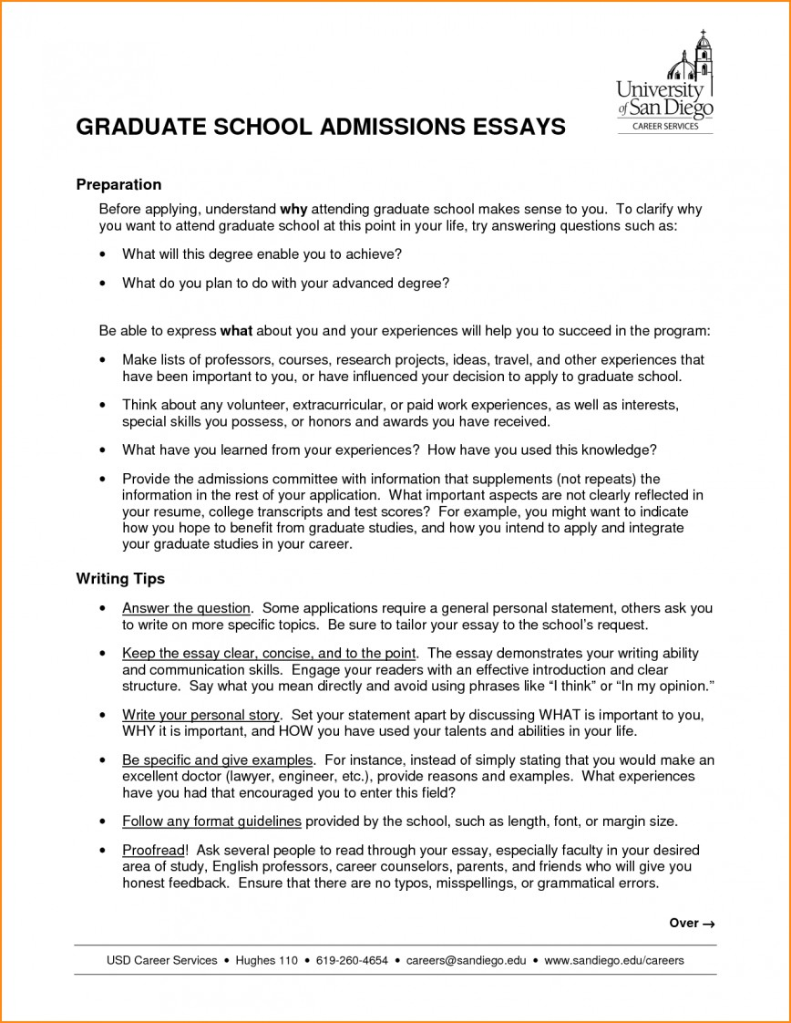 003 High School Admission Essay Sample Graduate Nursing Samples Admissions Examples Psychology Education Counseling Free Business Engineering Example Surprising For Personal 868