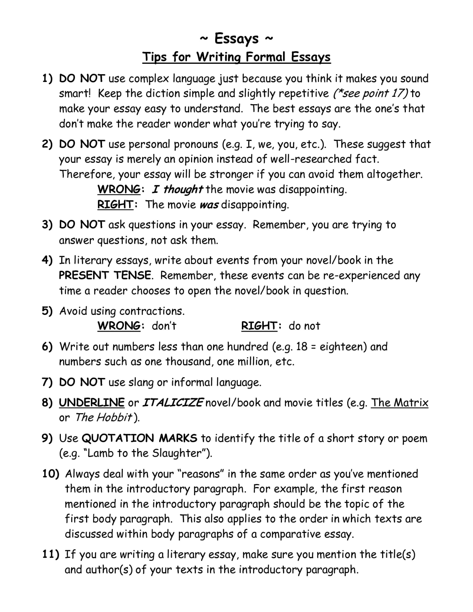 003 How To Write An Effective Essay Example Tips On Writing Essays Goal Blockety Co English Ibcmd Ppt Course Pdf Communication Samples For Ielts In Hindi Staggering A Good Literature Language 1920