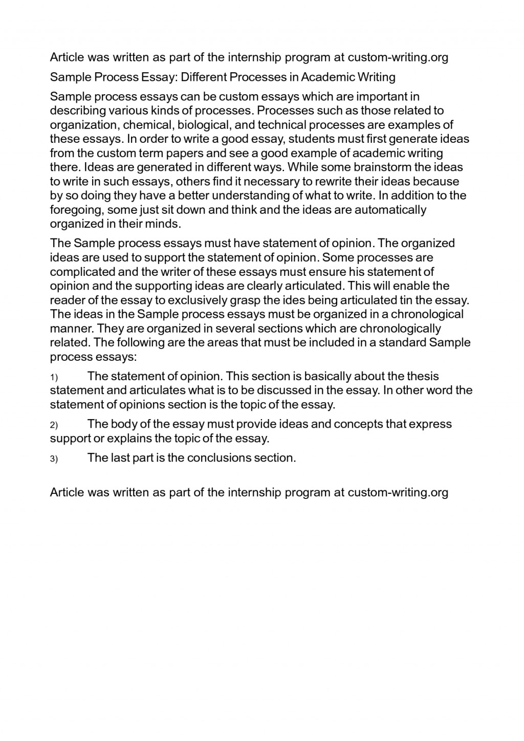 003 How To Write Process Essay Analysis Topics Co Sophisticated 3nprh History Top A Ielts Thesis Statement For Large