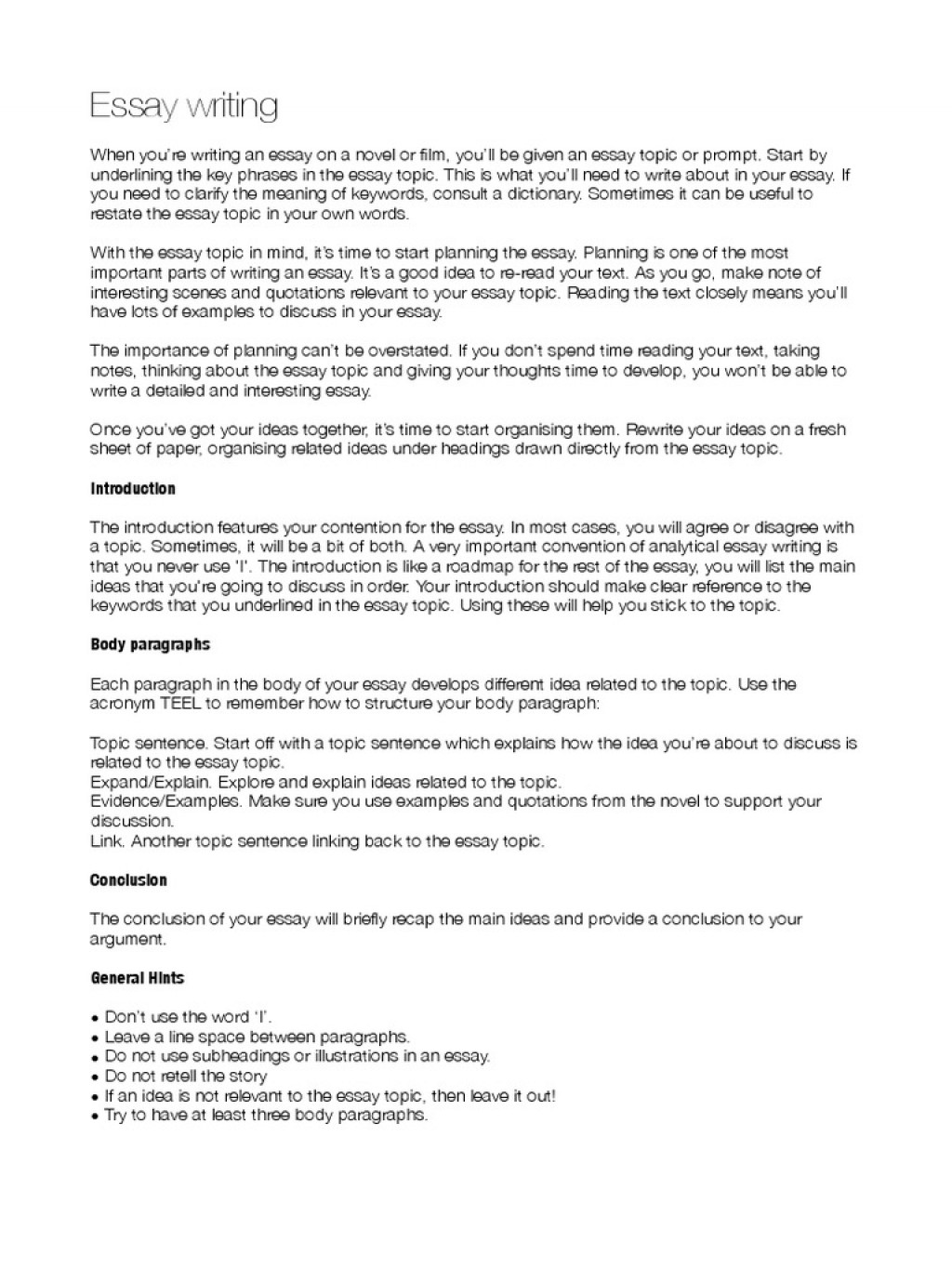 003 Hunger Games Essay Writing The Essays How To Start Off Body Paragraph In An Examples Third Argumentative Synthesis Analytical Informative Persuasive Expository Impressive A First Words Large