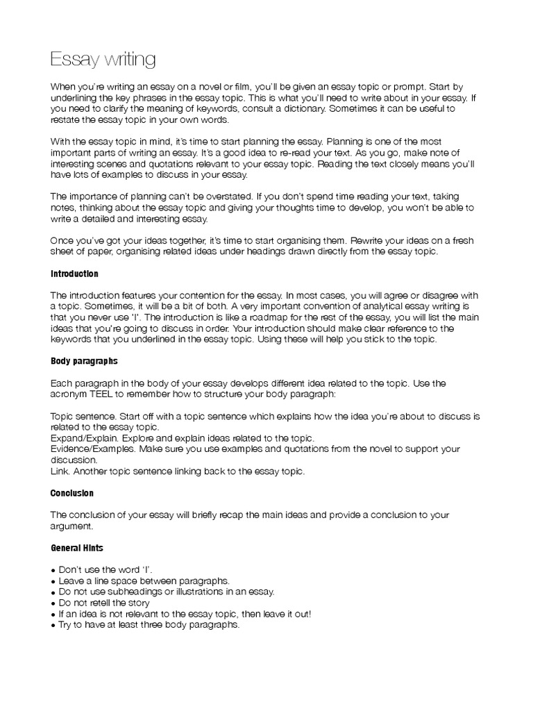 003 Hunger Games Essay Writing The Essays How To Start Off Body Paragraph In An Examples Third Argumentative Synthesis Analytical Informative Persuasive Expository Impressive A First Words Full