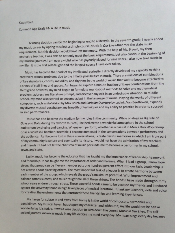 003 Kwasi Enin S College Essay Conversion Gate02 Thumbnail Ivy League Essays Singular Tips Topics Help Large