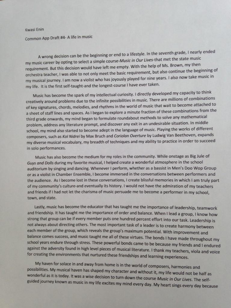 003 Kwasi Enin S College Essay Conversion Gate02 Thumbnail Ivy League Essays Singular Tips Topics Help Full