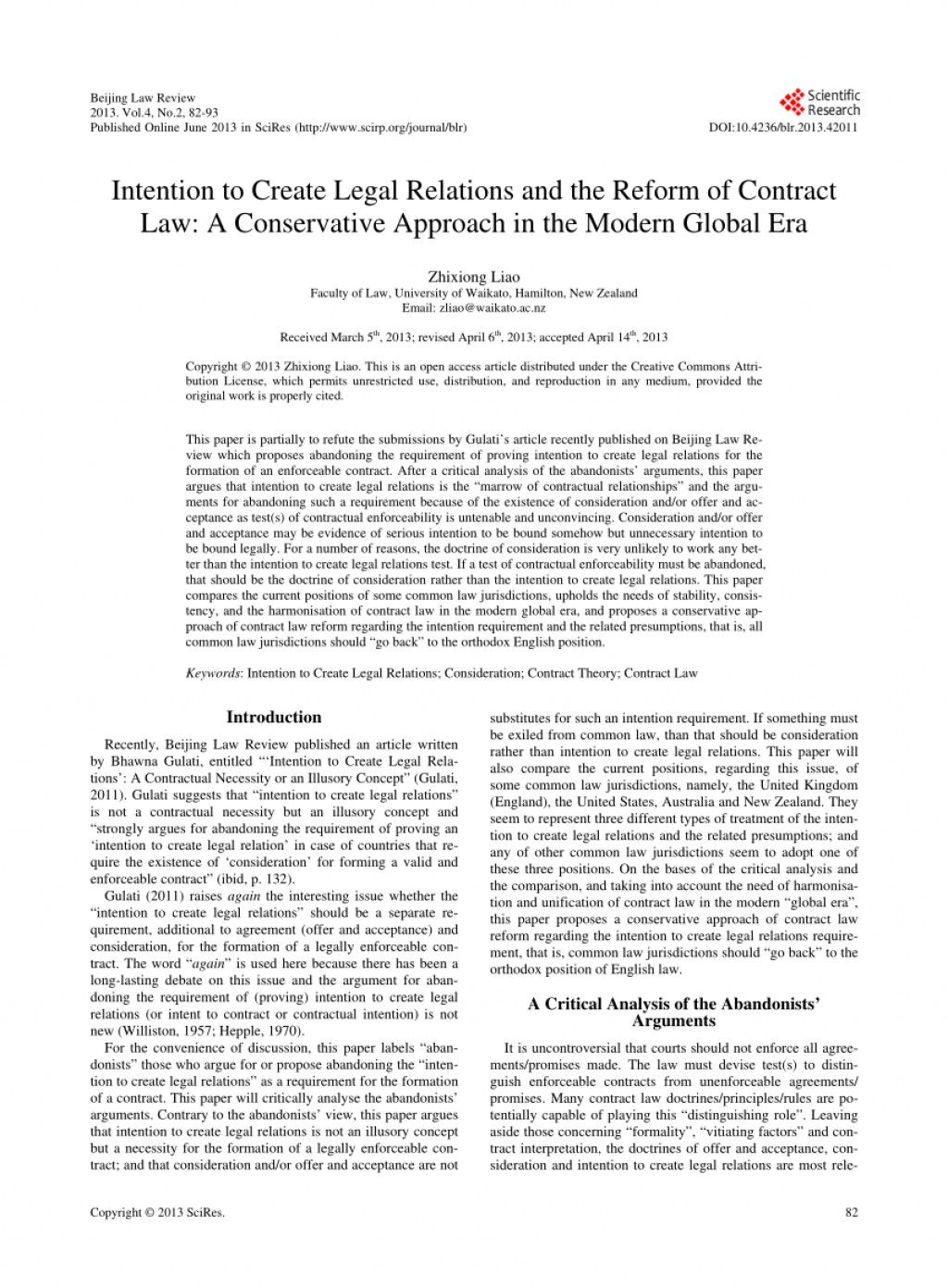 003 Largepreview Essay Example Intention To Create Legal Unbelievable Relations Large
